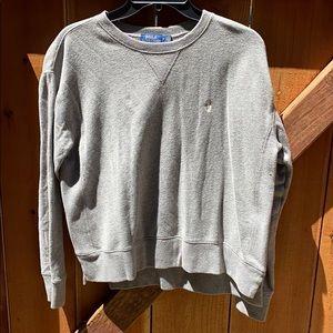Men's polo crew neck sweater